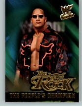 2001 Fleer WWE Wrestlemania People's Champion #15 The Rock