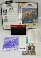 GP RIDER MASTER SYSTEM COMPLETE RARE EXCELLENT CONDITION
