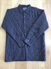 American Hero Plaid Quilted Lined Insulated Flannel Work Shirt - Men's Large