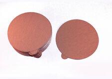 """PSA DA Gold Paper Disks 6"""" 80C Aluminum Oxide 50pc  80 grit  #776q50"""