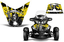 Can Am BRP RTS Spyder Roadster Hood Graphic Kit Decal Sticker Wrap 10-11 REAP Y