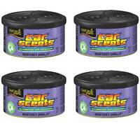 6 Pack of California Scents Monterey Vanilla Car & Home Air Freshener Can Style