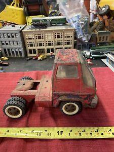 Vintage TONKA Toys 1960s GAS TURBINE Truck Cab Fire Truck Pressed Steel L👀K