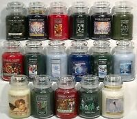 RARE Yankee Candle HOLIDAY 22oz LARGE JAR RETIRED WINTER SCENTS VHTF OOP *U PICK