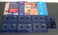 7 Cassettes Audio Book Harry Potter And The Goblet Of Fire. Part 1  Stephen Fry.