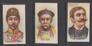 CIGARETTE CARDS Anon 1904 Boxer Rebellion Sketches - (3 cards) 15,17,23a