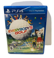Everybody's Golf (Sony PlayStation 4 PS4) Brand New Factory Sealed