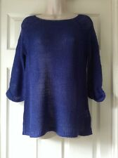 Miss Fiori Super Soft Throw Over Top, Cobalt Blue Size 18
