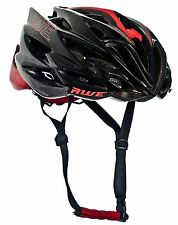 Awe ® awespeed ™ in Stampo Adulto Uomo Road Ciclismo Casco 58-62cm Nero/Rosso