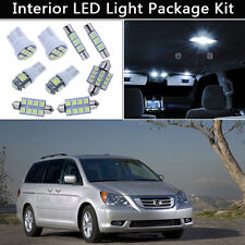 11PCS Bulbs White LED Interior Lights Package kit Fit 2005-2009 Honda Odyssey J1