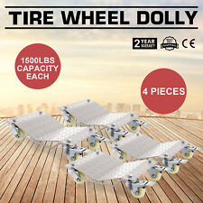 Rueda coche 4 plataformas rodantes Coche Patines Dolly van Posicionamiento Nuevo