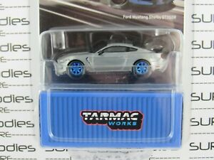 Tarmac Works 1:64 2020 Global64 Blue FORD MUSTANG SHELBY GT350R **Chase** RAW