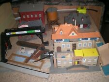 Lot of HO scale Buildings / Structures for Parts or Repair