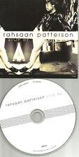 RAHSAAN PATTERSON Stop By 2TRX w/ RARE RADIO VERSION CARD SLEEVE CD single 1997