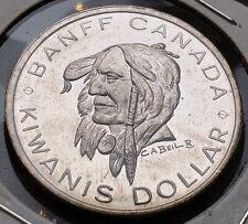 1971 Banff Alberta $1 Trade Token - Indian Days - Kiwanis Dollar