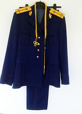 Romanian military army parade costume 70s tunic and pants uniform Communist era