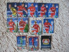PANINI ADRENALYN XL CHAMPIONS LEAGUE 2013 / 2014  BAYER  COMPLETE  fans  13/14