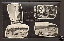 RONCE-les-BAINS (17) CAMPING DE LA CEPE & PHARE en 1963