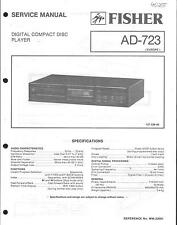 Fisher Original Service Manual für AD-723
