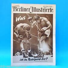 NBI 16/1955 DDR Barbara Laage Profiboxen Chinas Kinder Ensemble des FDGB W