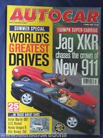 AUTOCAR Magazine 10th June 1998 Peugeot 206