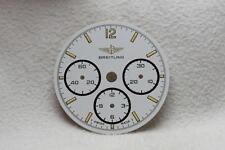 Breitling Callisto Chronograph White Tritium Dial - 26.5mm NOS Ref 80520 Cal 11