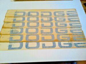 NOS OEM Factory BLUE 1986-2003 Ram Tailgate DODGE Emblem Sticker Decal 5DV73PB7