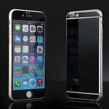 New Black Front & Back Rear Tempered Glass Film Screen Protector For iPhone 6 6s