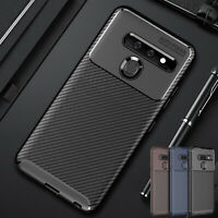 For LG G8 V50 V40 ThinQ K40 Luxury Case Slim Rubber TPU Shockproof Phone Cover
