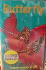 Butterfly (Eurogold 1986) Commodore C64 (Tape, Box, Manual) 100 % ok CLASSIC