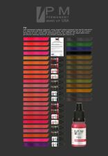 RUBINE Tattoo Color Ink PM Permanent Makeup Lips Micro Pigments 1/2oz Bottle