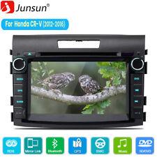 "7"" Touch Screen Car Stereo Radio Player Bt For Honda Crv 12-16 Gps Navigation"