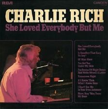 CHARLIE RICH She Loved Everybody But Me Vinyl Record LP RCA Camden CDS 1140 1974