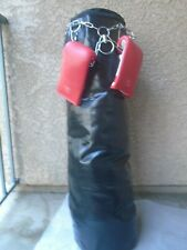 Boxing, Kickboxing, martial art Punching bag size with Chain, punching gloves