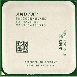 AMD FX-4300 3.8GHz 4C 4MB 95W Socket AM3+ CPU Processor
