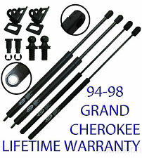 2 Rear Hatch +2 Glass Window Liftgate Gate Door Lift Supports Shocks Struts Rods