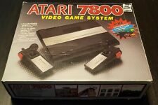 Vintage New In Box Dead Stock Atari 7800 Pro Video Game System With Game 1987
