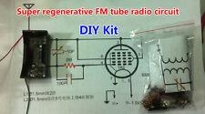 DIY Kit Super Regenerative FM Tube Radio Circuit FM Receiver Module 88MHz-108MHz