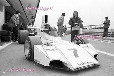 Carlos Reutemann Brabham BT44 Spanish Grand Prix 1974 Photograph 2