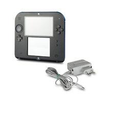 Nintendo 2DS de Mano en la Consola Negro Azul con Original Cargador #24A