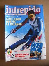 INTREPIDO n°1 1987 Garella Patrizio Oliva Fabrizia Carminati   [G493]