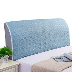 Dustproof Headboard Cover Stretch Bedside Slipcover Bedhead Protector Removable