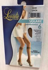 Levante Solare gambaletto  6 DEN  punta nuda Made in Italy