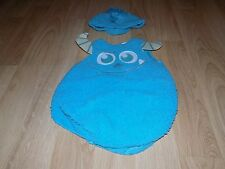 Size 2T Disney Monsters University Sulley Sully Monster Halloween Costume New