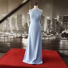 Dessy Dress (Carolina Blue-size 12) Prom, Bridesmaid, Cruise,Ball, Tag says £215