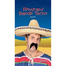Mexicano Bandido Gringo Tash bigote falso rompía para Vestido de fantasía