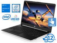 """HP 15, 15"""" HD Touch, i7-8565U, 16GB RAM, 256GB SSD, Windows 10 Pro"""