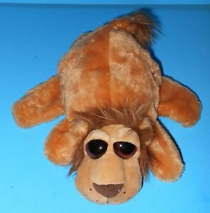 Caltoy Big Large Eyed Lion Velvety Soft Plush Movable Limbs Creative Play 10""