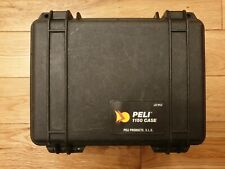 Peli 1150 with foam set, protector case small handheld, tough water proof VGC