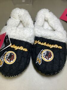 Washington Redskins Women's Slippers House Shoes  Sz Small(5-6) NEW W/Tag